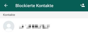 Kontakte nachrichten dibpodiszi: whatsapp lesen blockierte WhatsApp