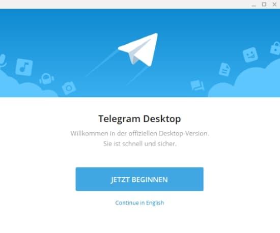 Telegram PC mehrere Accounts einrichten